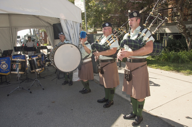 Roncesvalles Polish Festival - bag pipes